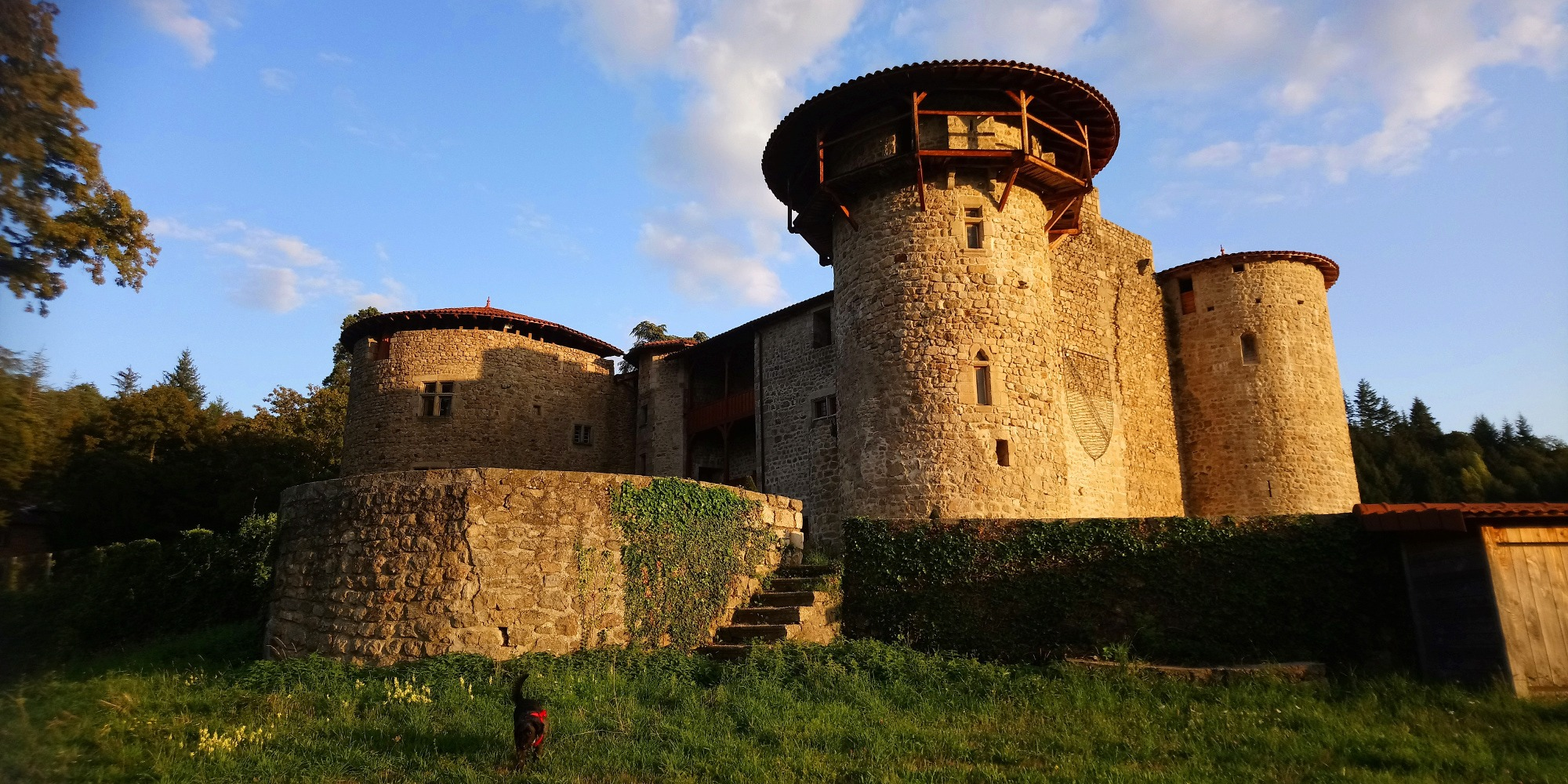 Le Chateau de La Chèze, Le Cheylard